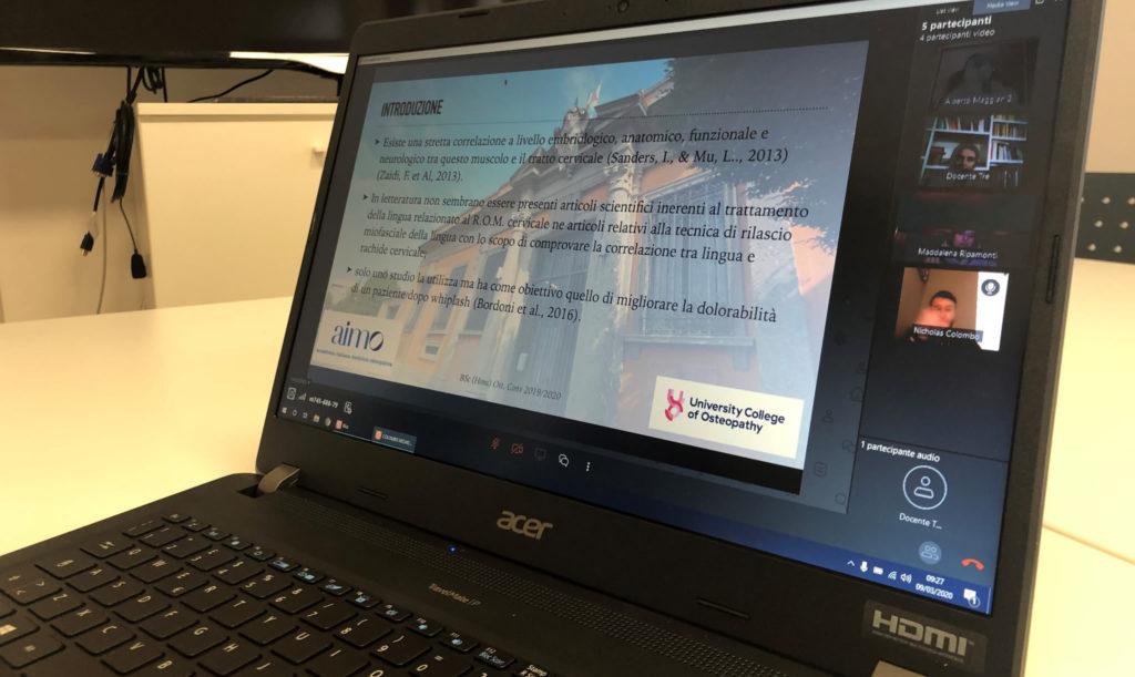 AIMO adotta didattica online